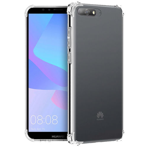 Flexi Shock Air Cushion Clear Case for Huawei Y6 (2018) - Transparent